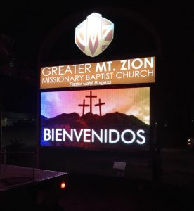 Electronic Signs custom lighted monument digital message center e1530106590486 276x300