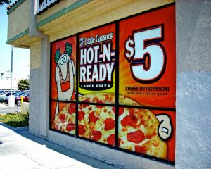 Promotional Signs promotional window vinyl 300x240