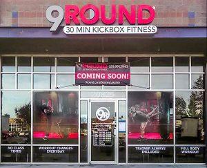 promotional storefront signage
